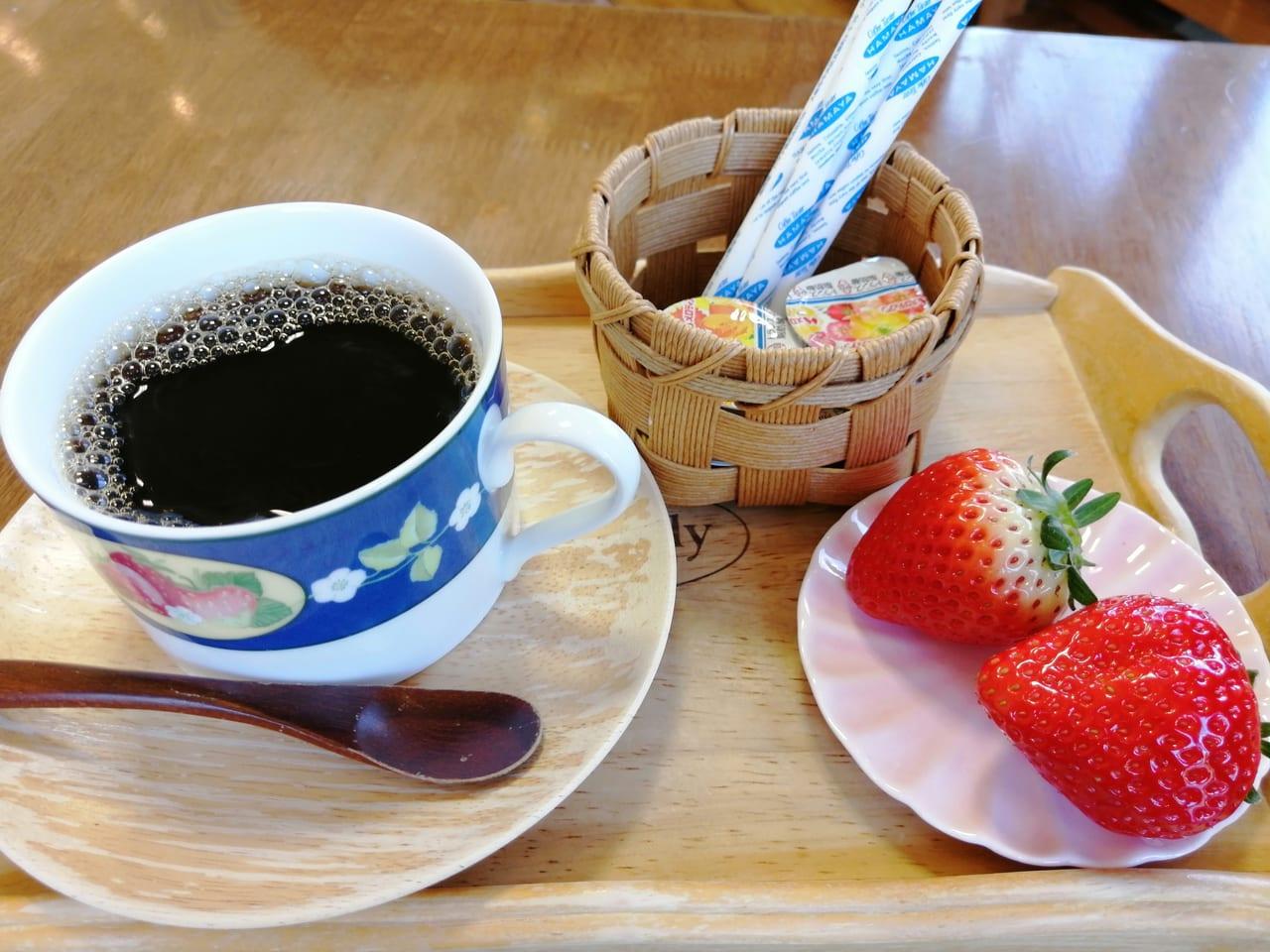 いちご畑コーヒー
